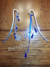 jewish star book marks