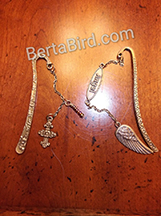 angel and cross bookmarks