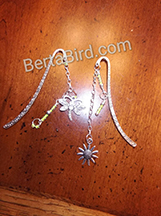 buttterfly and sunflower bookmark