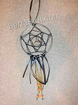 pumpkin dream catcher
