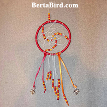 fall leaves dream catcher