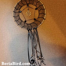spider web dream catcher